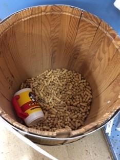 peanut bin